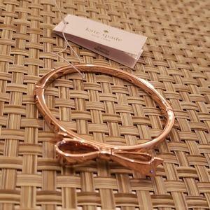 Kate Spade Love Notes rose gold bracelet
